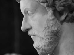 Photo of a statue of Marcus Aurelius