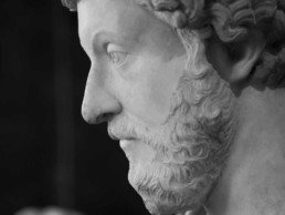 Photo of a statue of Marcus Aurelius